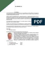 informacion financiera de la empresa industrias del envase s.a.