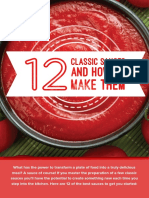 12 Classic Sauces and How to Make Them Printable
