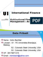 Modul 1 Multinational Financial Management