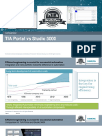 Comparison TIA Portal vs Studio 5000 1