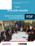 M1-Dirección escolar