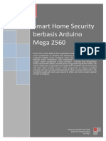 Smart Home Security Berbasis Arduino Mega 2560