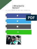 Are Men Attracted to CleverWomen