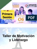 Motivación y Liderazgo Final(Primera Sesión)