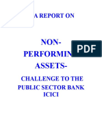 A Report on NPA  in Banking SECTOR