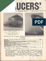 SAUCERS - Vol. 1, No. 3 - December 1953