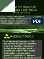 Riesgos Del Manejo de Materiales y Sustancias Radioactivas