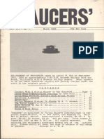 SAUCERS - Vol. 3, No. 1 - March 1955