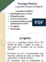 Teologia Paulina 06 La Iglesia