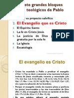 Teologia Paulina 02 El Evangelio Que Es Cristo