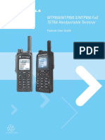 Motorola TETRA MTP850 MTP850S User Guide