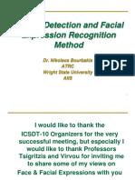 A Face Detection and Facial Expression Recognition Method - Dr. Nikolaos Bourbakis
