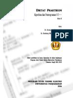 Diktat Praktikum Pemrograman Modul I Dan II