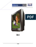 Sony , Texto de Entrenamiento Chassis Ba-5