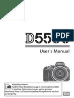 Nikon 5500 Manual