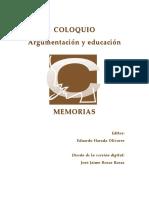 Aprender a argumentar en el bachillerato, ¿verdad o fantasía? - VIRGINIA FRAGOSO RUIZ -Colegio de Ciencia y Humanidades-Oriente de la UNAM