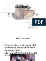 Services in Education