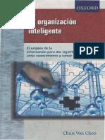 172003458 La Organizacion Inteligente Choo