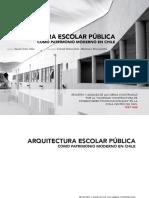 Arquitectura Escolar Pública Libro