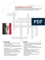 Lección - Psicología del mexicano