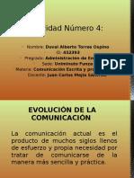 Actividad 4 Evolucion de La Comunicacion