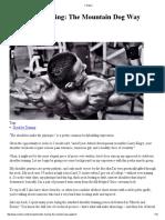 Shoulder Training - John Meadows