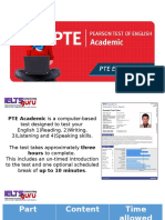 PTE Exam Introduction