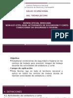NORMA Oficial Mexicana 027