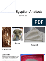 ancient egyptian artefacts - room 24  1
