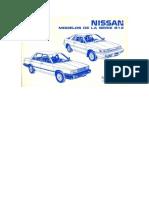 Manual Nissan b12