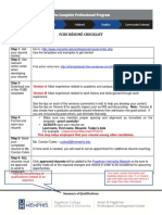 Cpp Resume Packet
