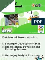 Barangay Development Plan, Presentation | Facilitator