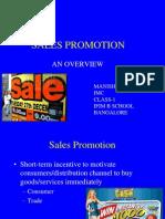 Sales Promotion Manish