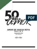 Sermon Semana 1 - Amor de Vasija Rota