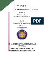 Tugas Perhitungan Sistem Telekomunikasi Digital
