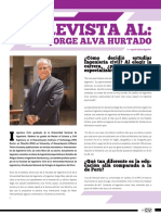 Entrevista al Dr. Jorge Alva Hurtado
