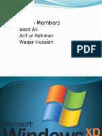 Windows Xp Presentation