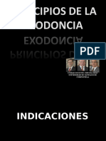 Exodoncia, Indicaciones, Contraindicaciones y Técnica