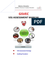 Assessment Manual 2014