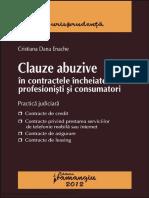 Clauze Abuzive in Contracte 2012