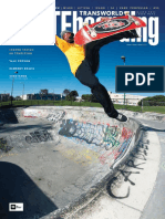 Transworld Skateboarding - March 2016 [SilentNewb]