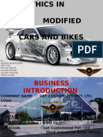 Business Ethics Modified Cars