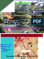Opening Biologi Umum 2016