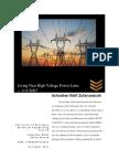 Achnafian R.Z. Essay 2 - Living Near High Voltage Power Lines