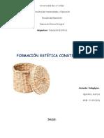 Formación Estética Constructiva