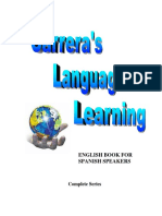 Carrera's Language Learning. English Book for Spanish Speakers (Full Version)