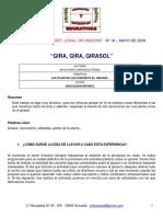 M ESTHER CARRASCO Proyecto Girasol