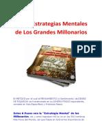 Estrategias Mentales de Los Grandes Millonarios