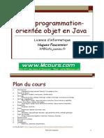 Programmation Orientee Objet en Java