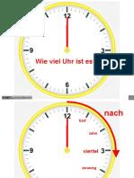 Uhrzeitanalog Und Digital